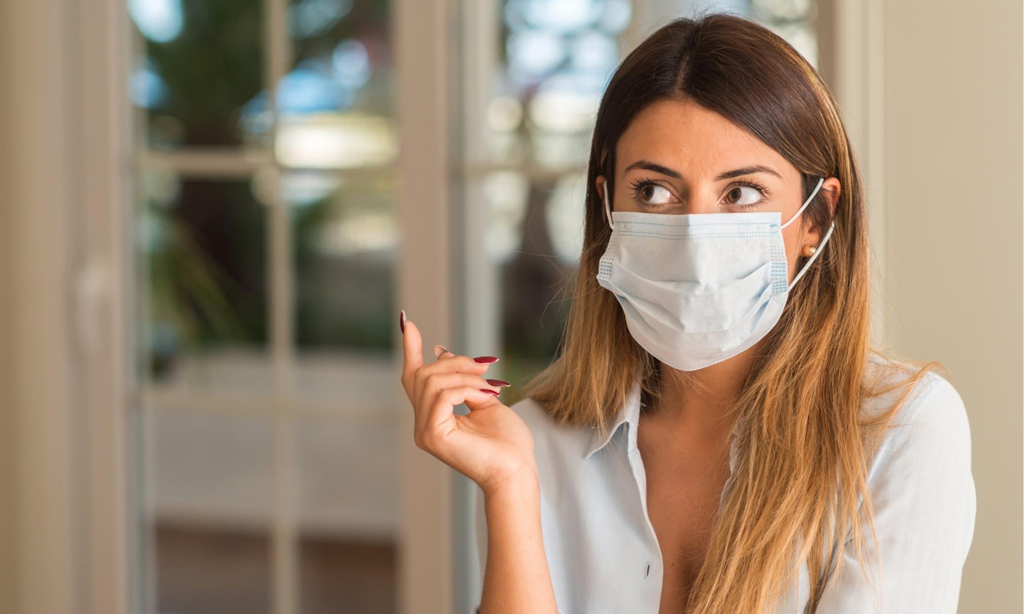 уход за кожей после ношения маски