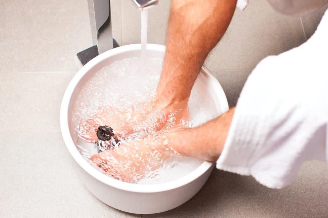Ванночки от запаха ног в домашних условиях