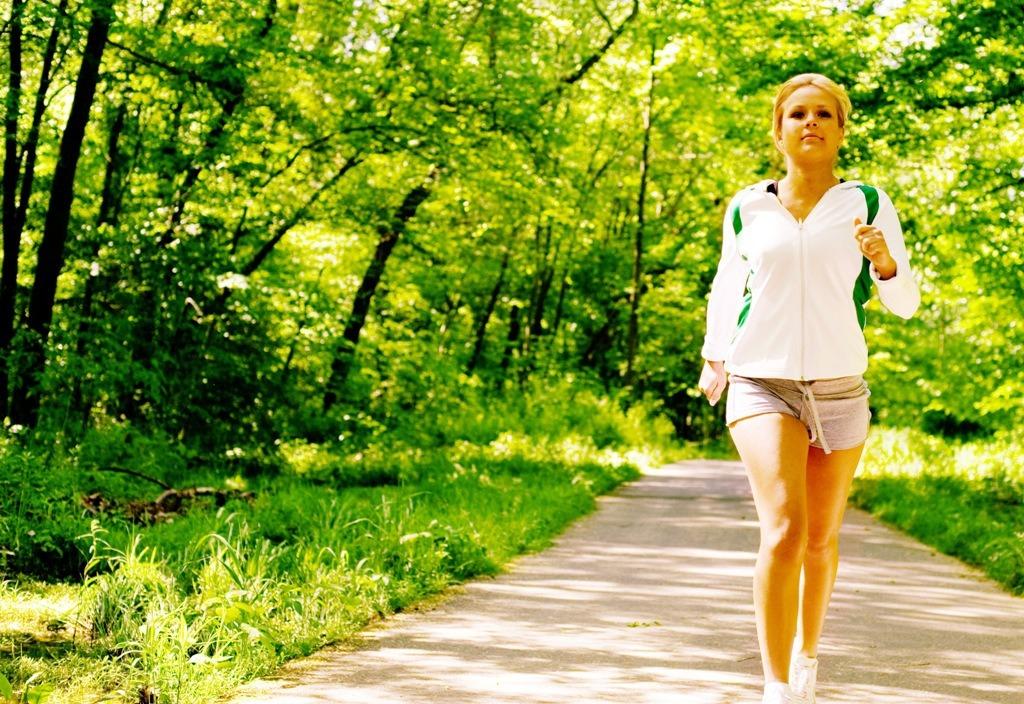 Я похудела когда начала ходить пешком