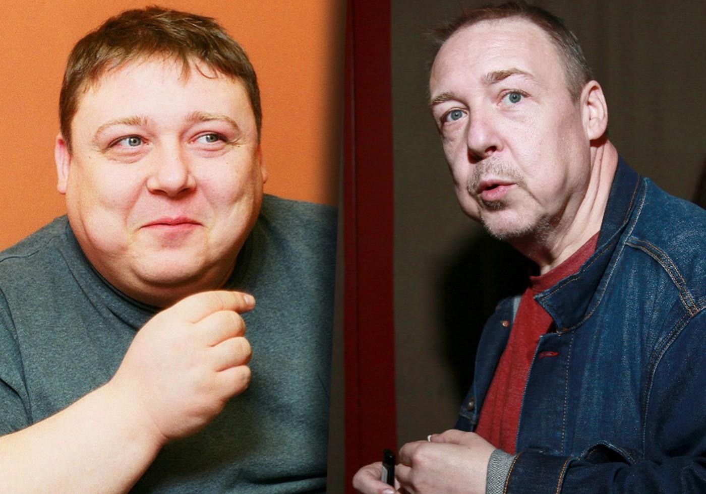 Похудевший актер Семчев