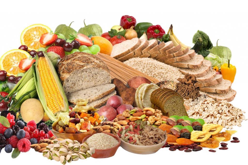 Здоровые углеводы список продуктов